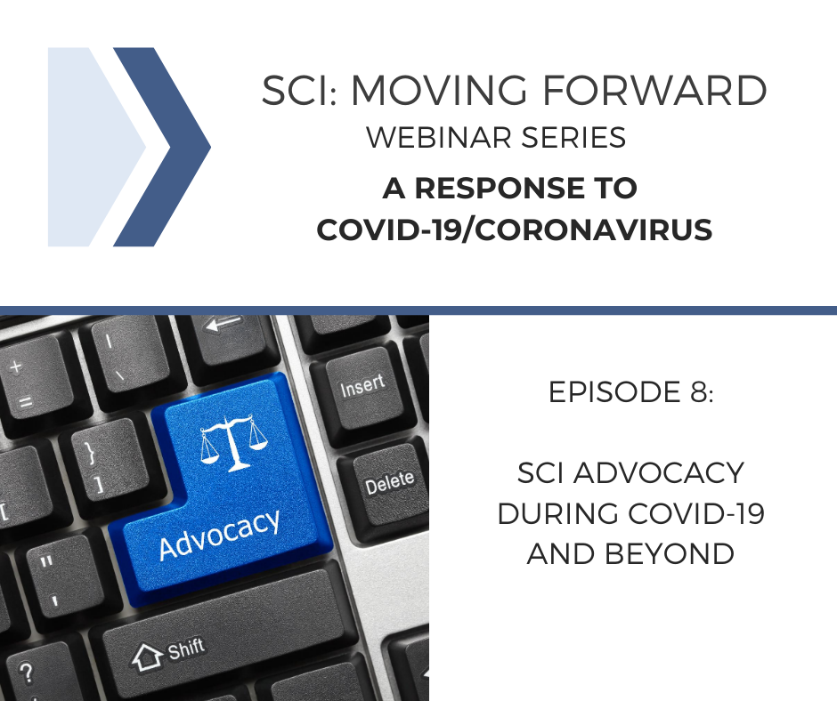 SCI Moving Forward: A Response to COVID-19 Webinar 8