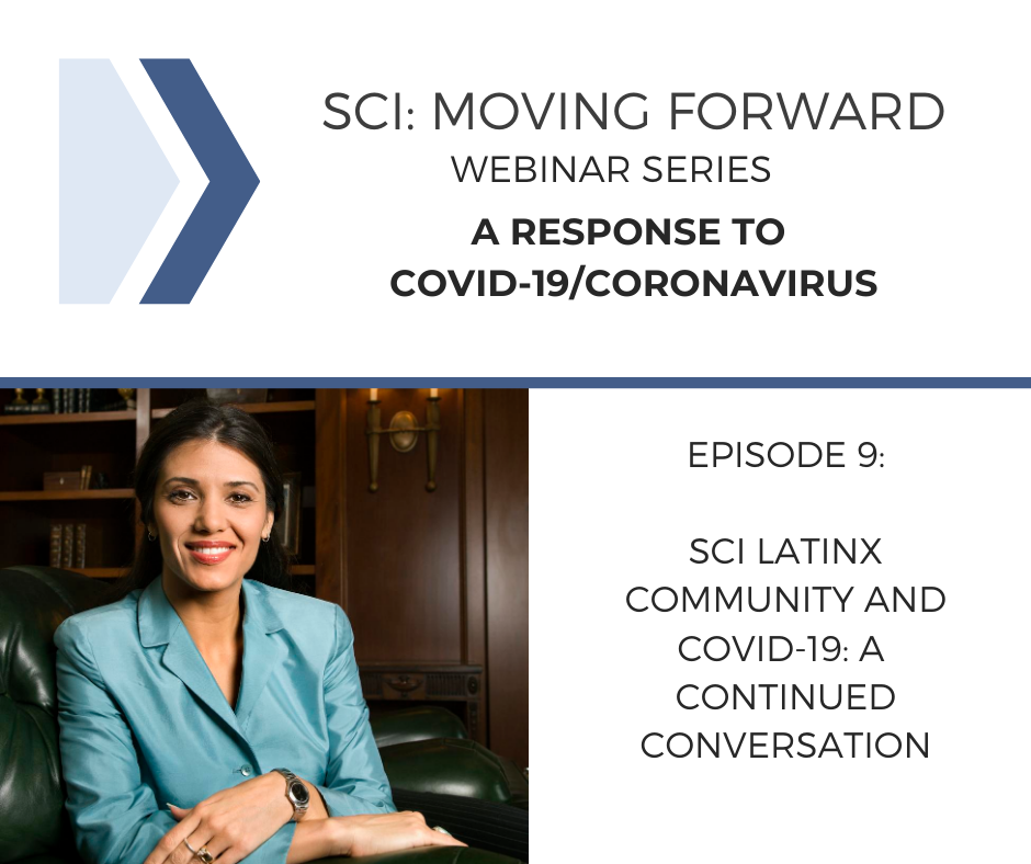 SCI Moving Forward: A Response to COVID-19 Webinar 9