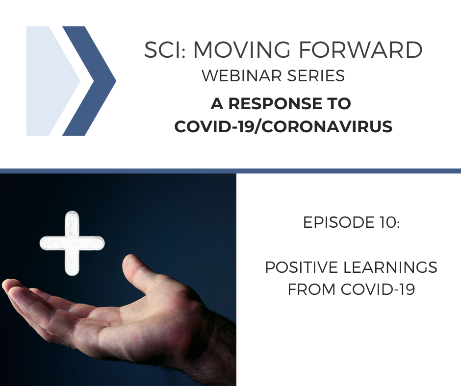 SCI Moving Forward: A Response to COVID-19 Webinar 10